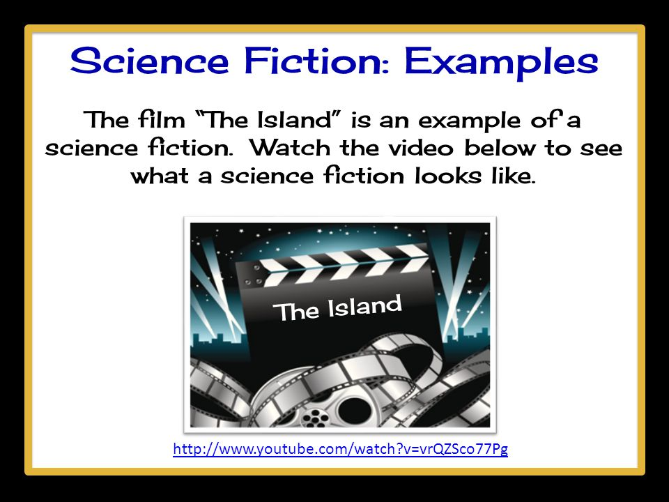 Science Fiction: Examples