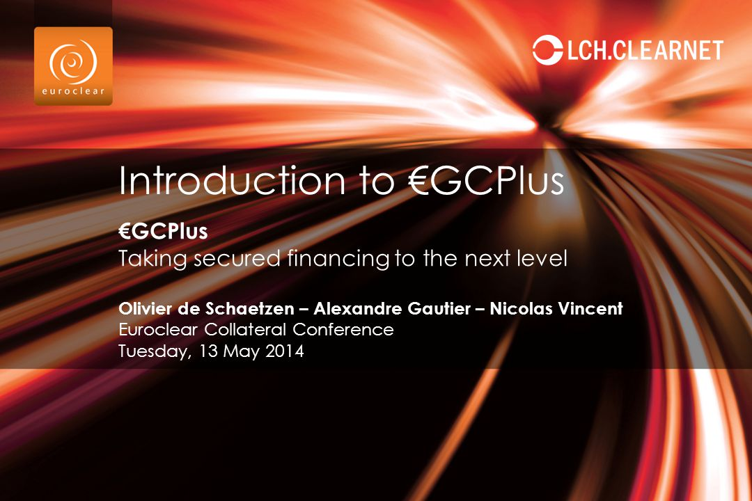 Introduction to €GCPlus