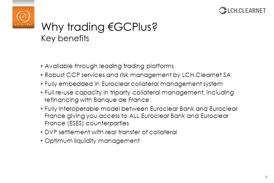 Why trading €GCPlus Key benefits