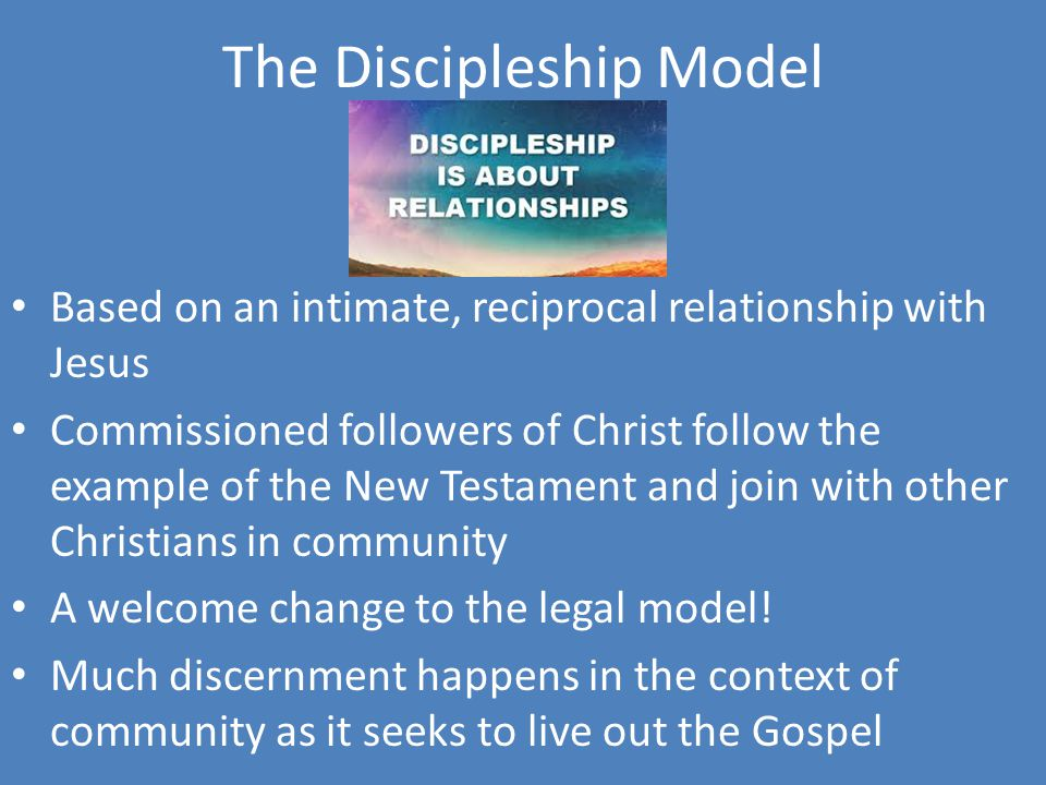 The Discipleship Model
