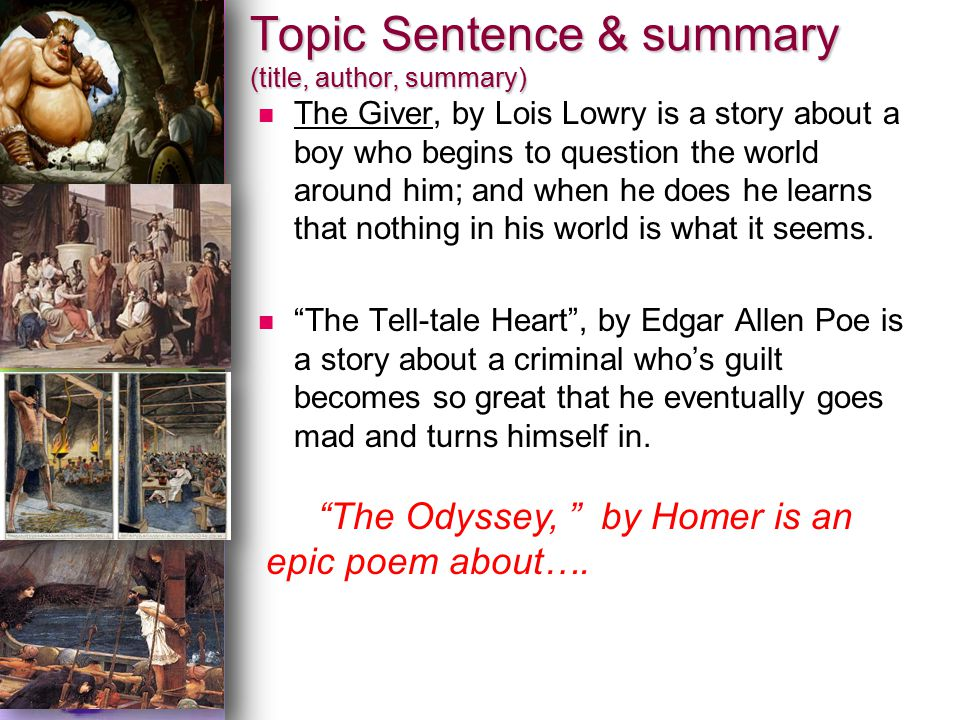 thesis statement about the odyssey by homer Odyssey is the second (after the iliad) greek epic poem, written by the ancient greek poet homer it was written in the 8th century bc and tells about the adventures of a mythical hero named odysseus during his trip home after the trojan war, as well as the adventures of his wife, penelope, who was waiting for odysseus on ithaca.