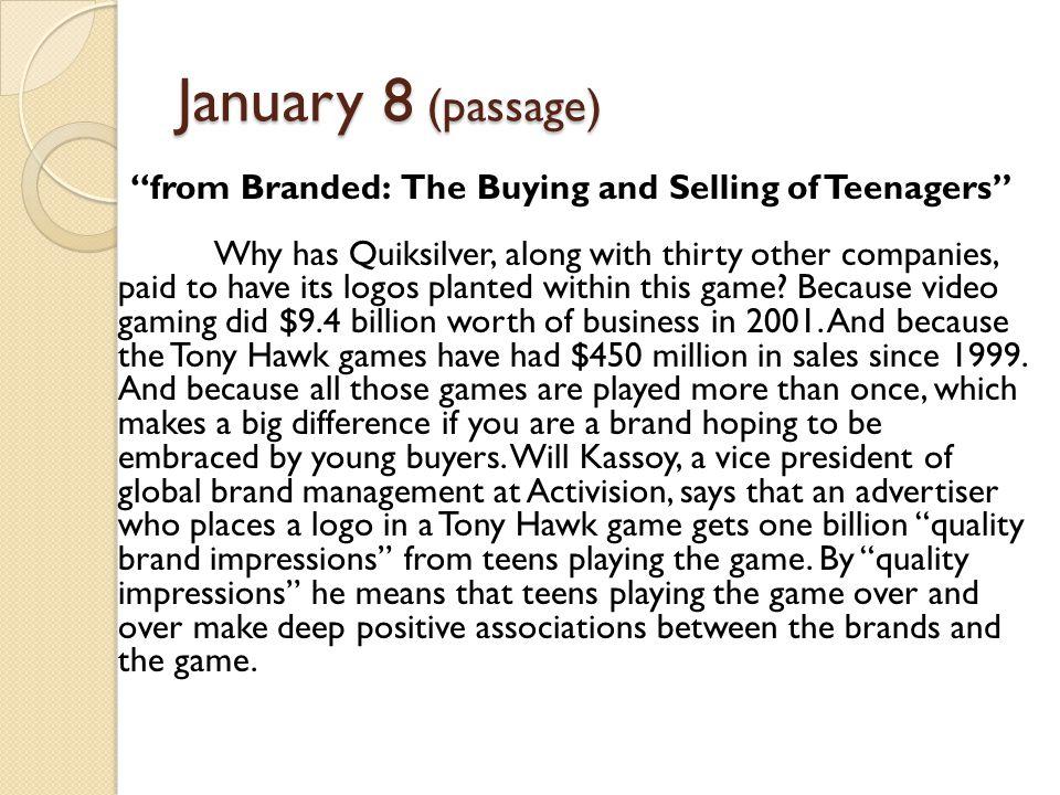 January 8 (passage)