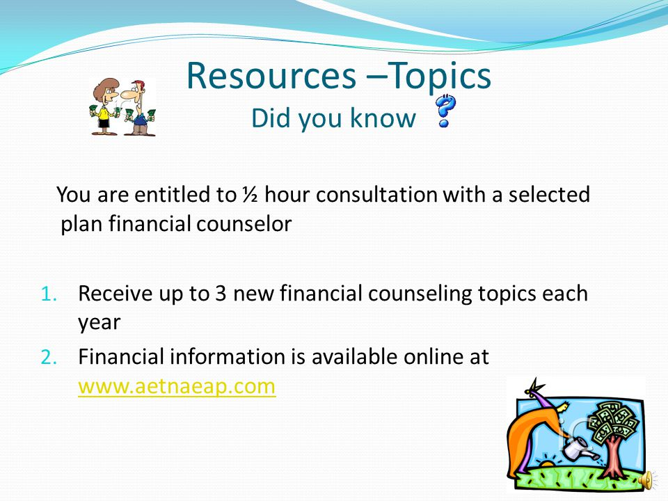 Resources –Topics Did you know