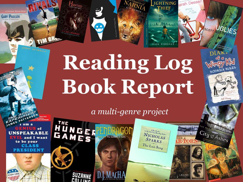 Reading Log Book Report