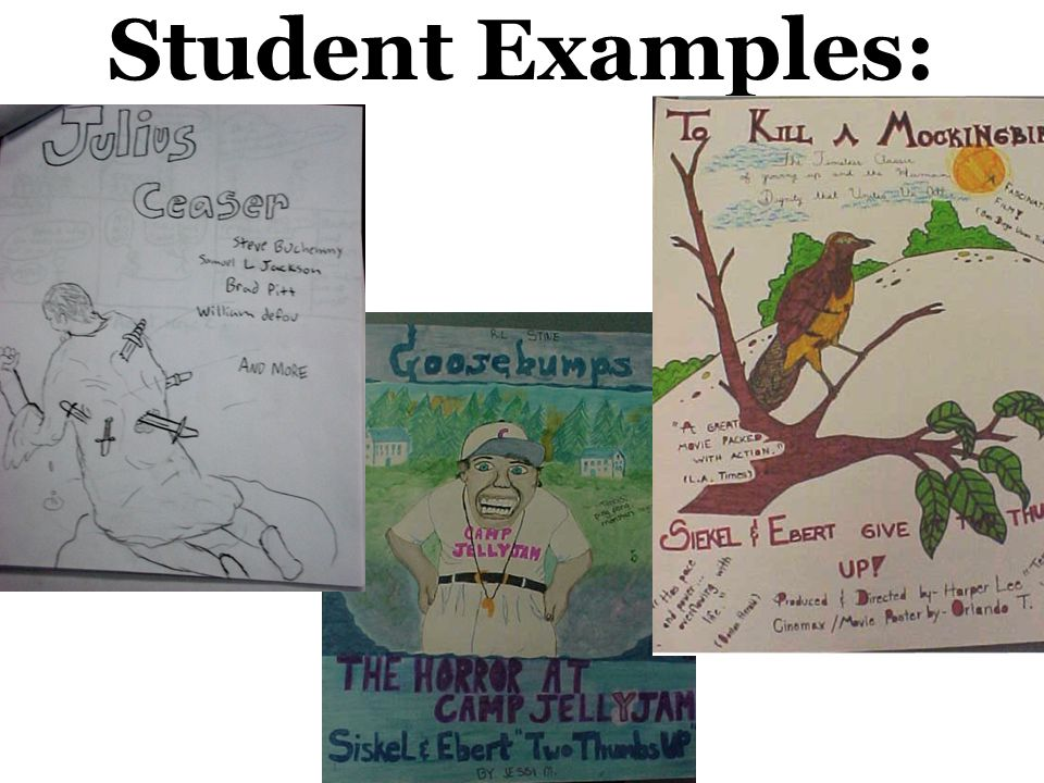 Student Examples: