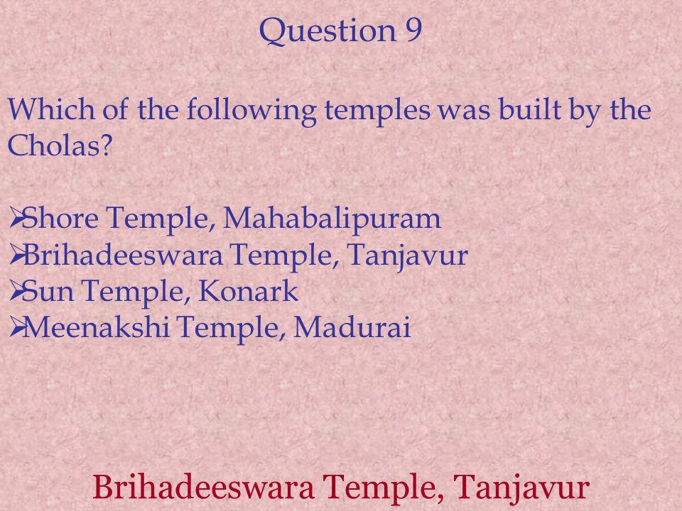 Brihadeeswara Temple, Tanjavur