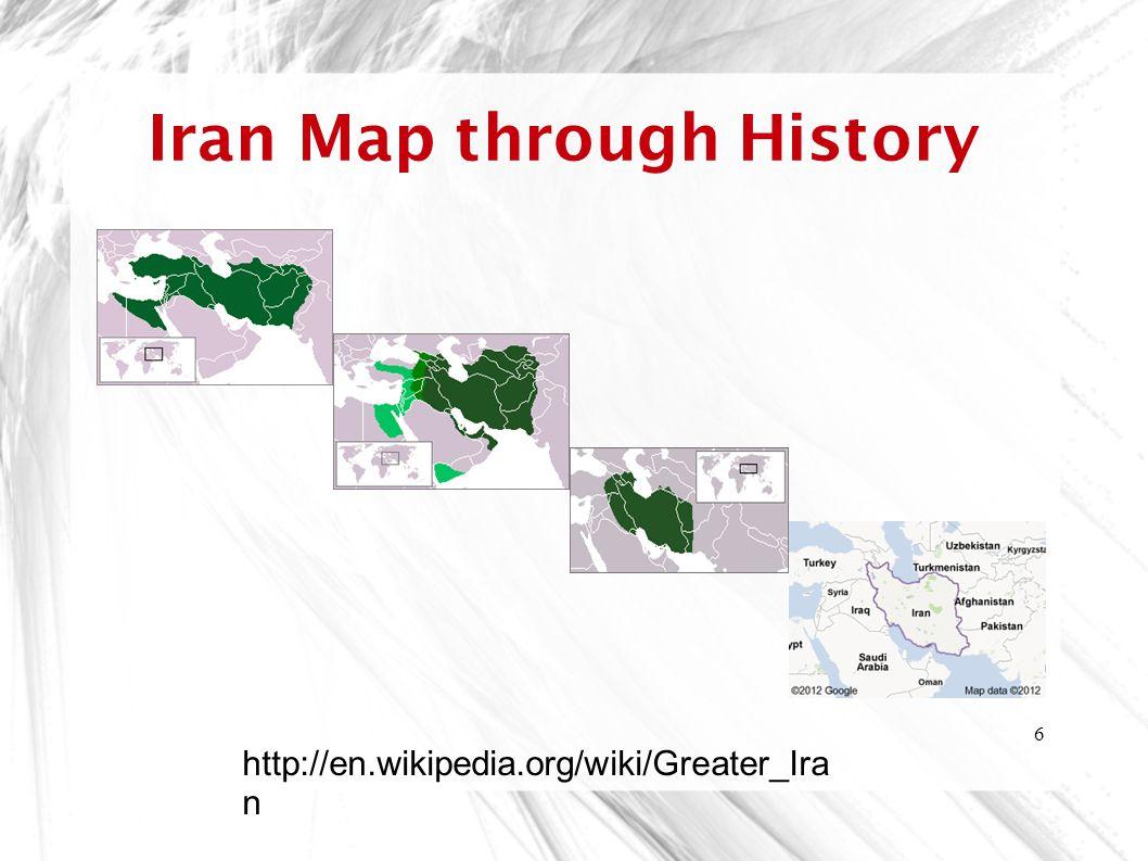 Iran Map through History