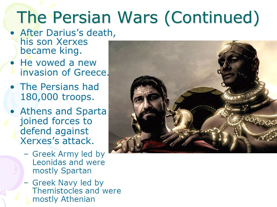 The Persian Wars (Continued)