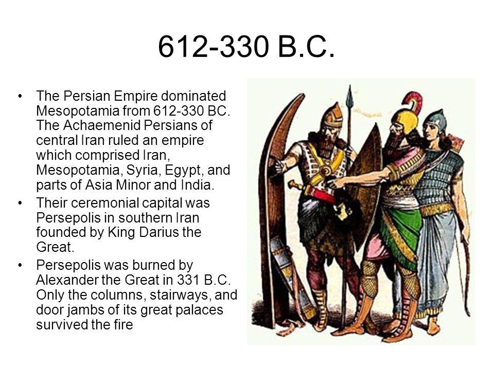 612-330 B.C.