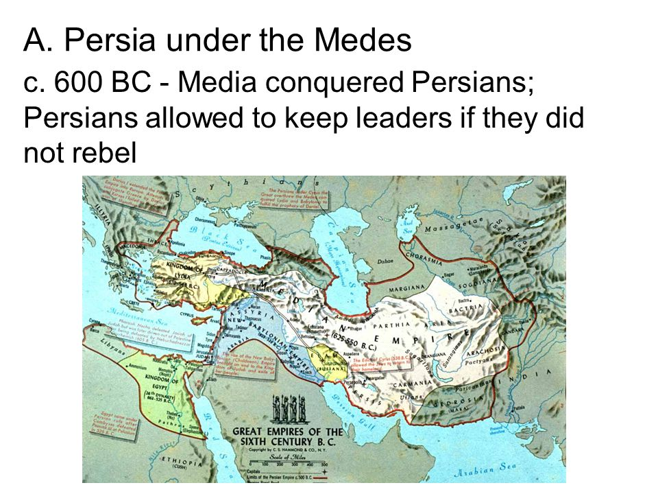 A. Persia under the Medes