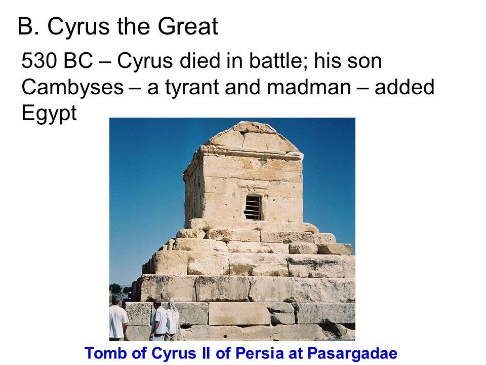 Tomb of Cyrus II of Persia at Pasargadae