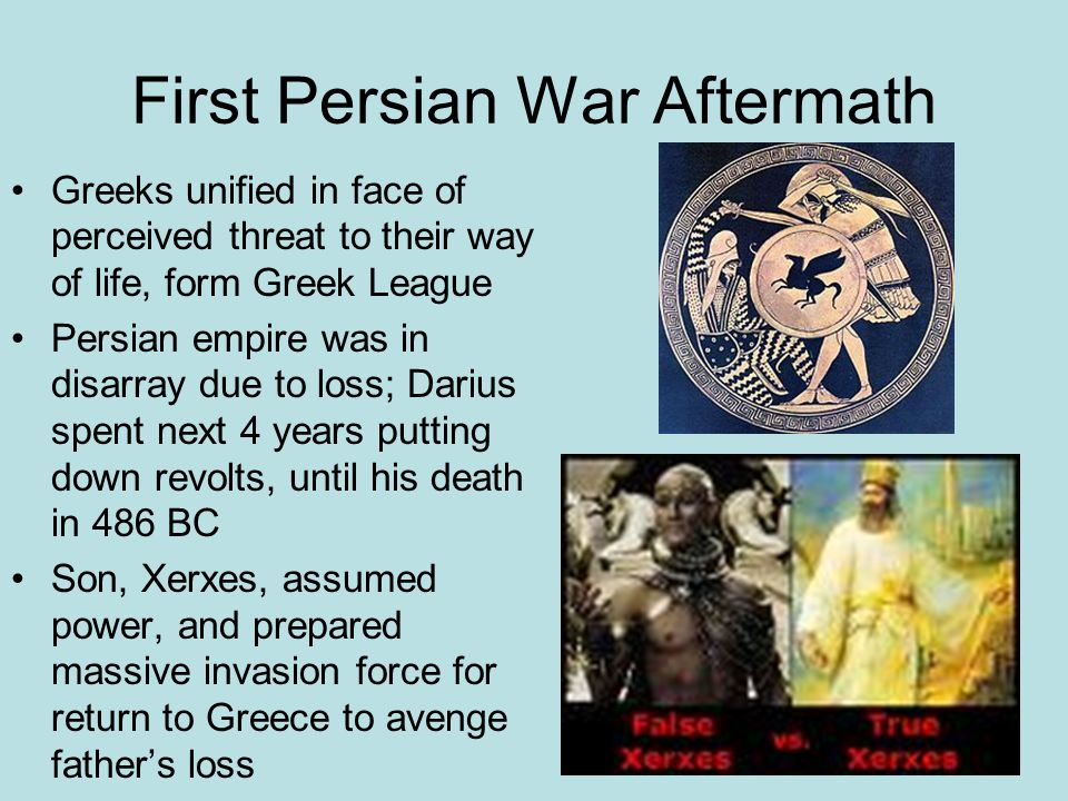First Persian War Aftermath