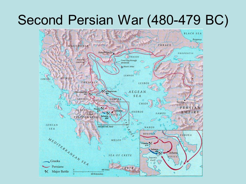 Second Persian War (480-479 BC)