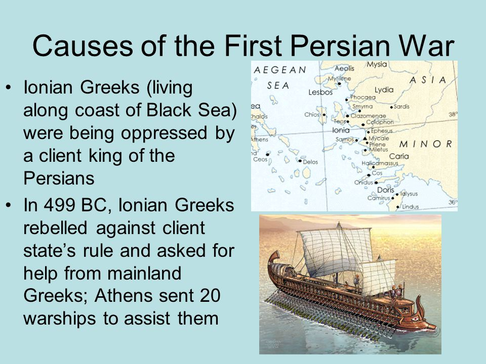 Causes of the First Persian War