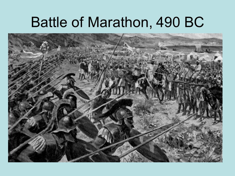 Battle of Marathon, 490 BC