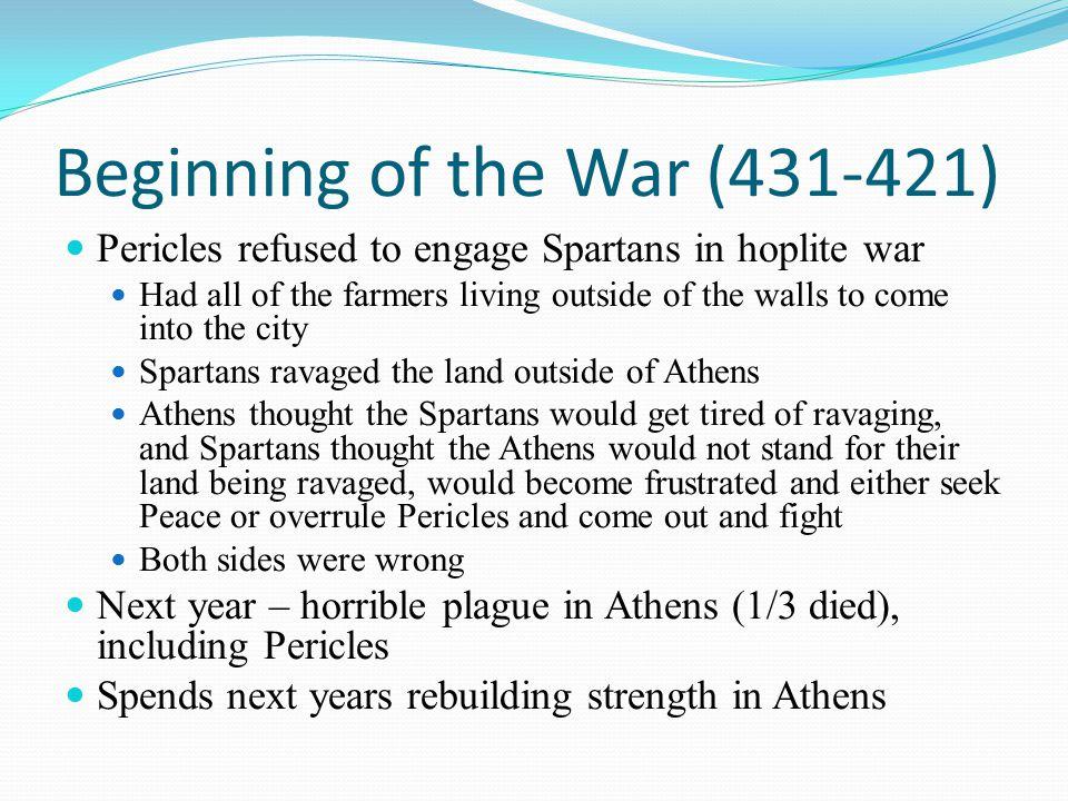 Beginning of the War (431-421)