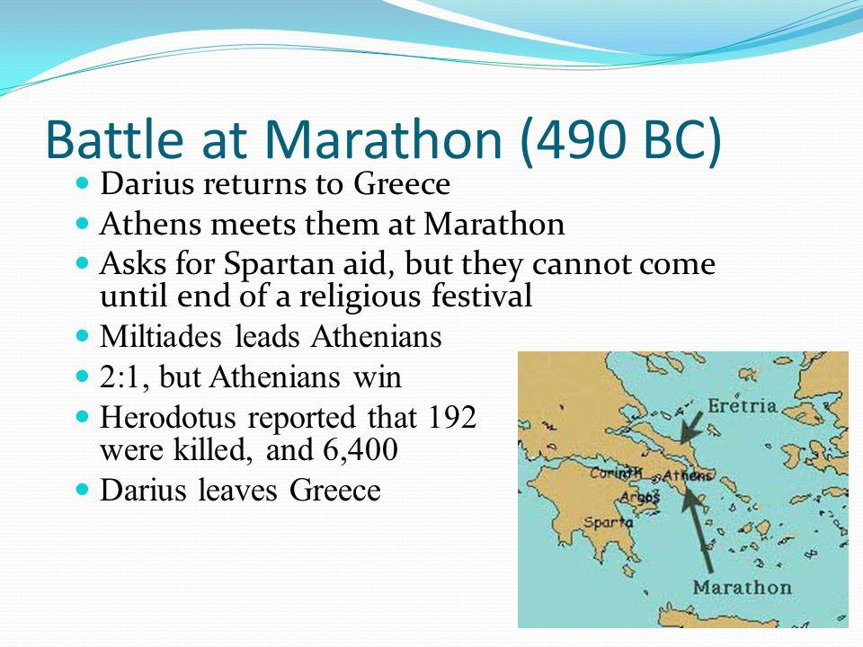 Battle at Marathon (490 BC)