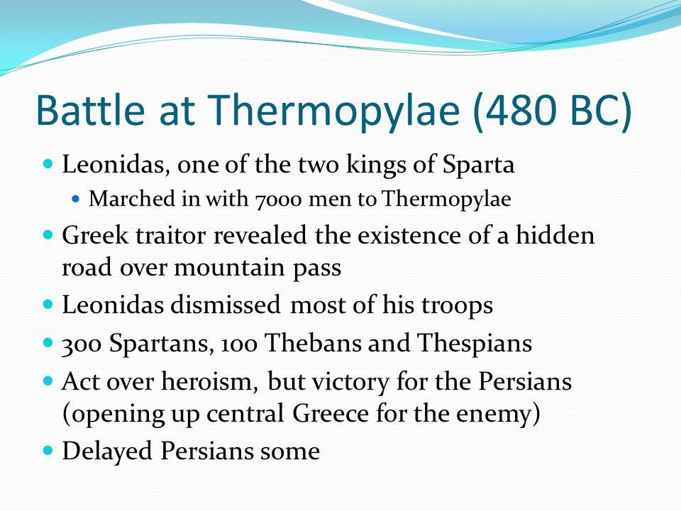 Battle at Thermopylae (480 BC)