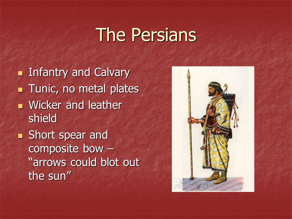 The Persians Infantry and Calvary Tunic, no metal plates