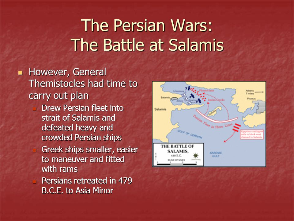 The Persian Wars: The Battle at Salamis