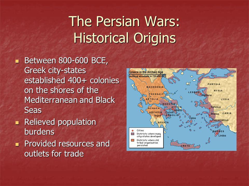 The Persian Wars: Historical Origins