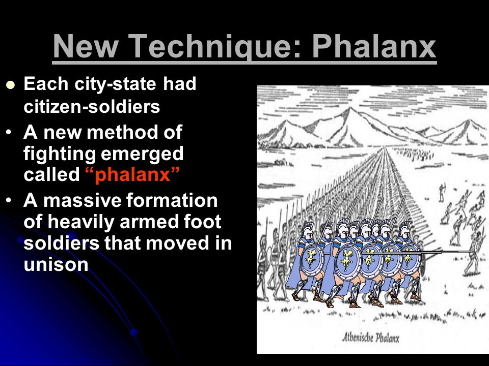 New Technique: Phalanx