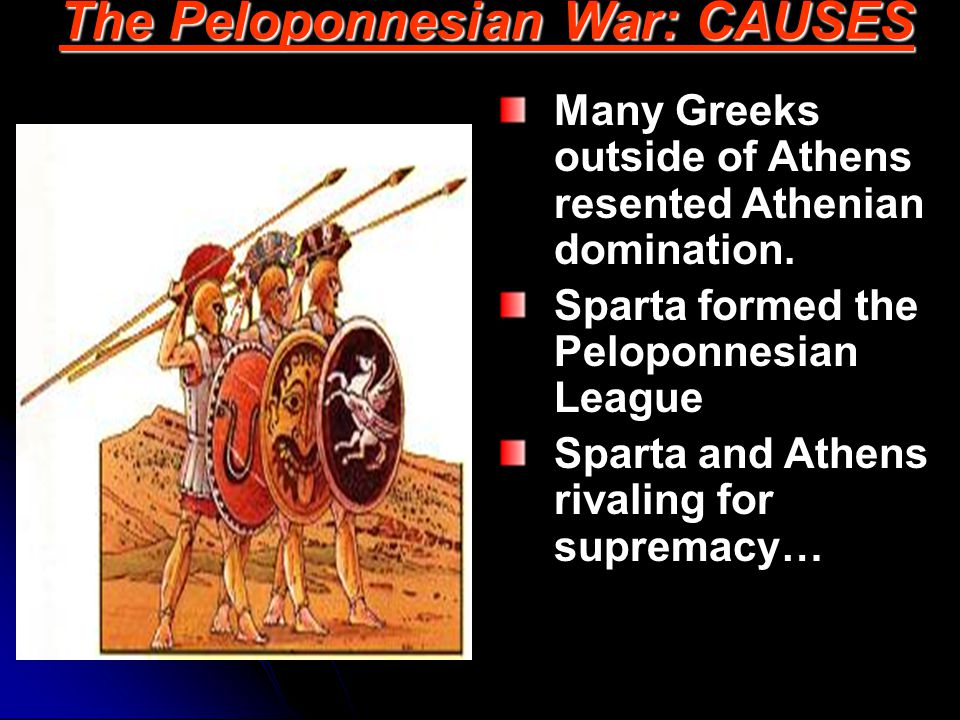 The Peloponnesian War: CAUSES