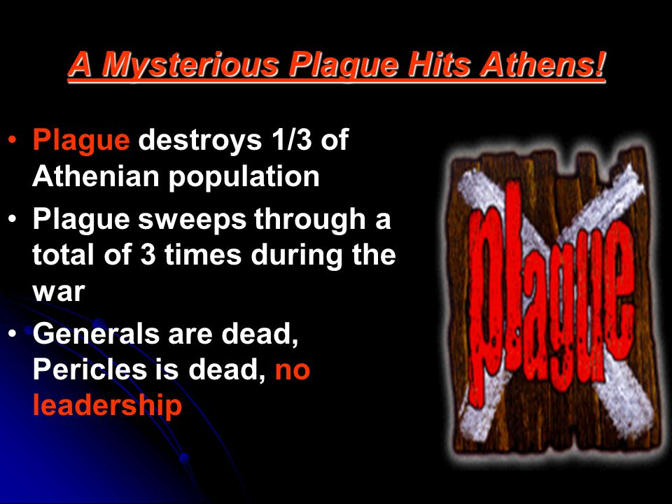 A Mysterious Plague Hits Athens!