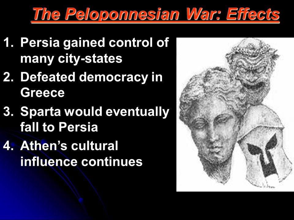 The Peloponnesian War: Effects