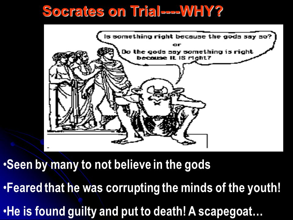 was socrates guilty of corrupting the youth essay Essay about yourself for work zone wyatt: november 12, 2017 | guys please like this page, it's for a friend's essay on clean drinking water & sanitation facilities.