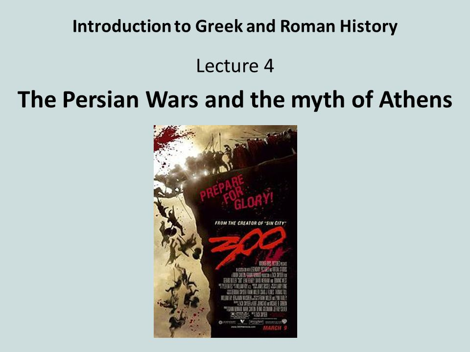 an introduction to the greek history and the persian wars This greek creation myth is an introduction to the major gods of greek mythology the persian war this article explains the causes, course of events, and effects of the persian war.