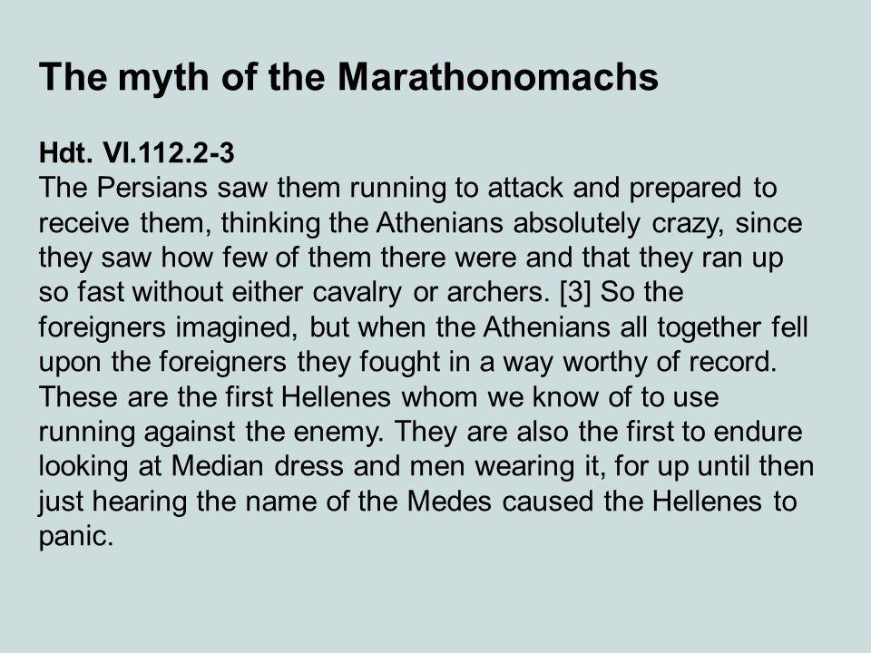 The myth of the Marathonomachs