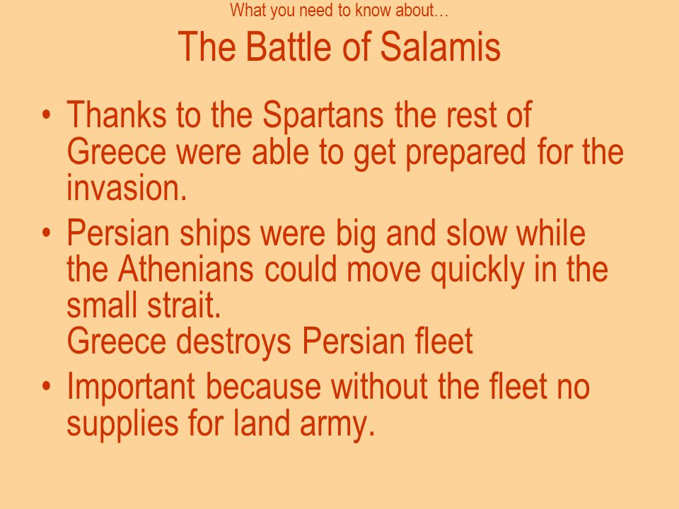 What you need to know about… The Battle of Salamis