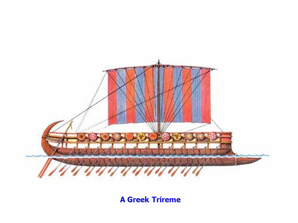 This is the important one: the trireme -->