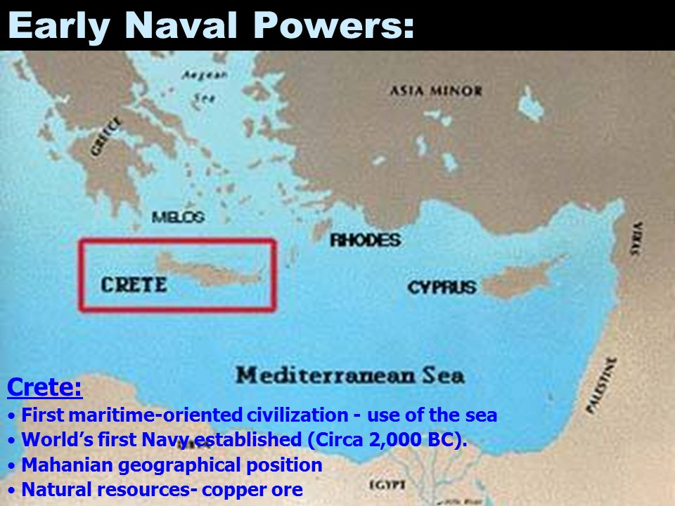 Early Naval Powers: Crete: