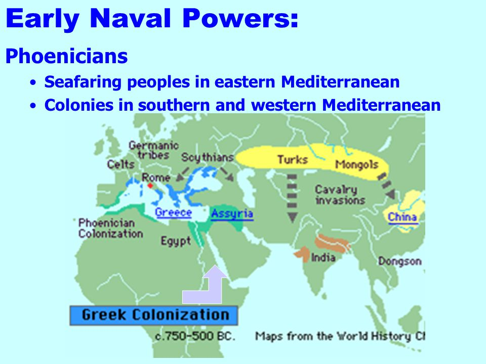 Early Naval Powers: Phoenicians