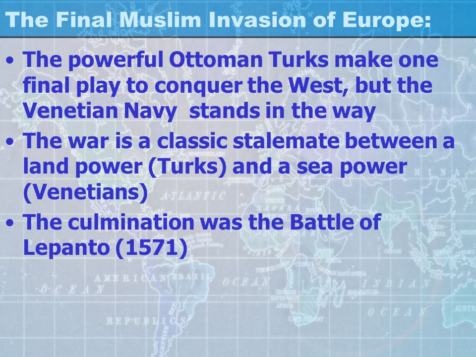 The Final Muslim Invasion of Europe: