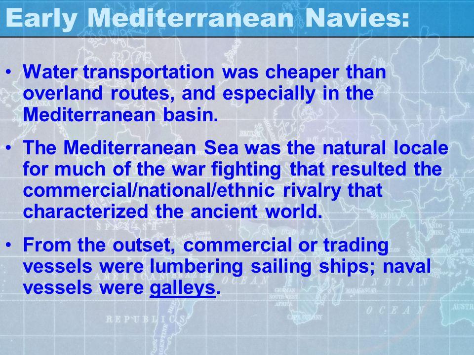 Early Mediterranean Navies:
