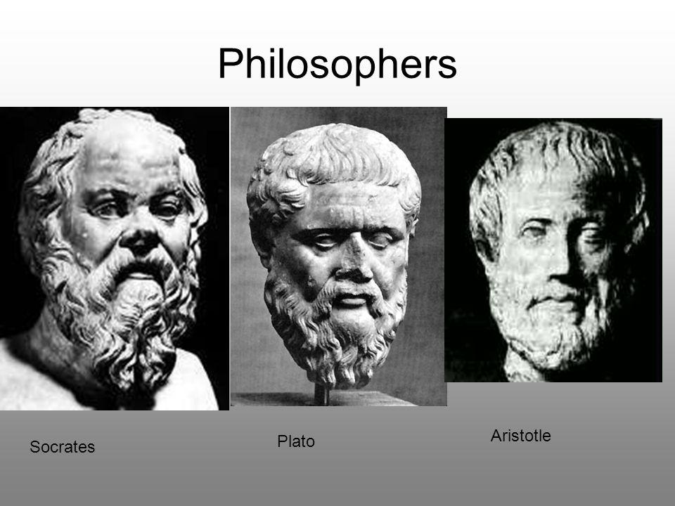 Philosophers Aristotle Plato Socrates
