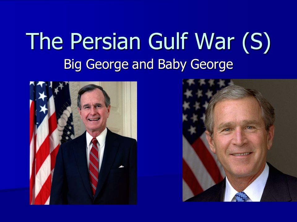 The Persian Gulf War (S)