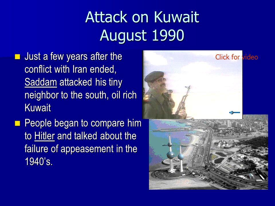 Attack on Kuwait August 1990