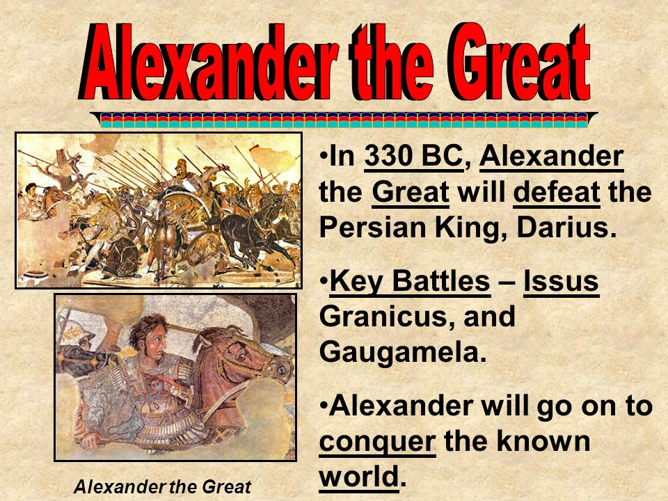 Alexander the Great Alexander the Great
