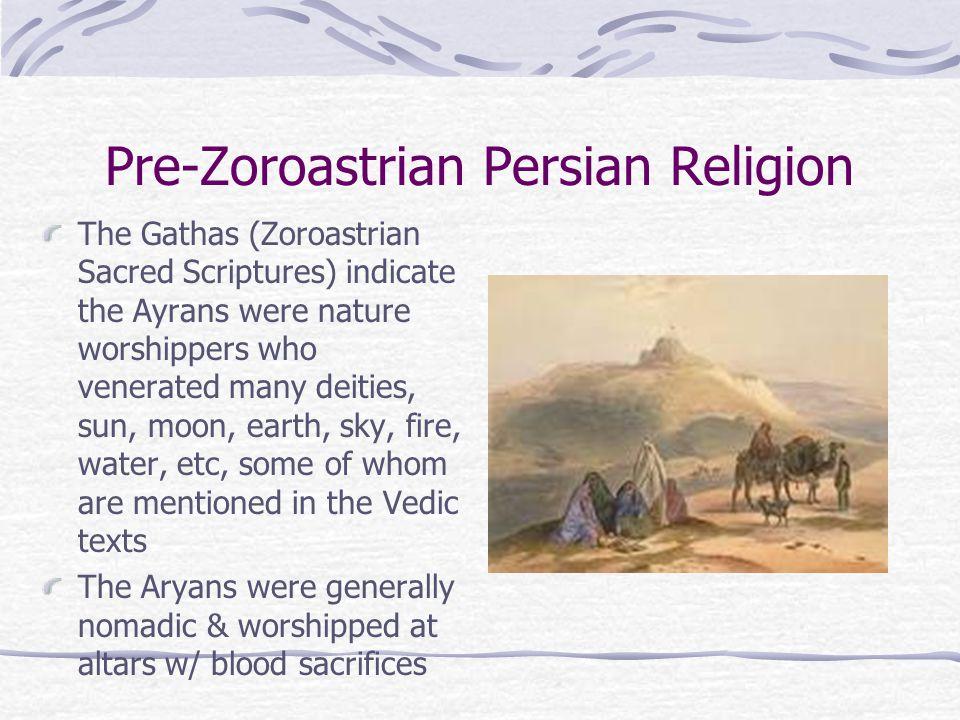 Pre-Zoroastrian Persian Religion