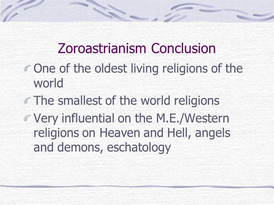 Zoroastrianism Conclusion