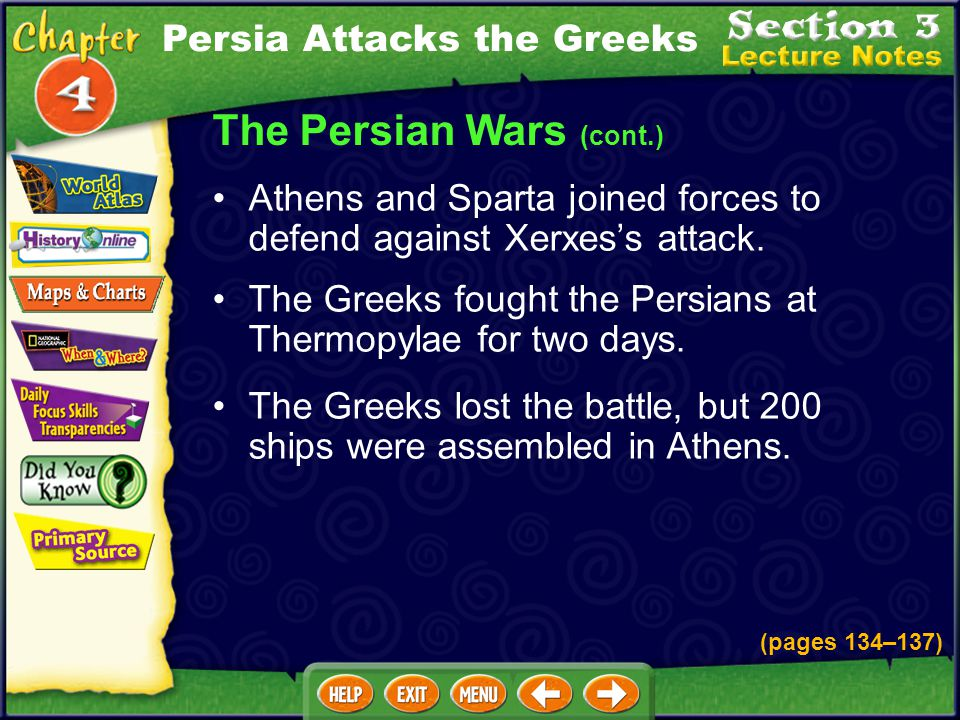 The Persian Wars (cont.)