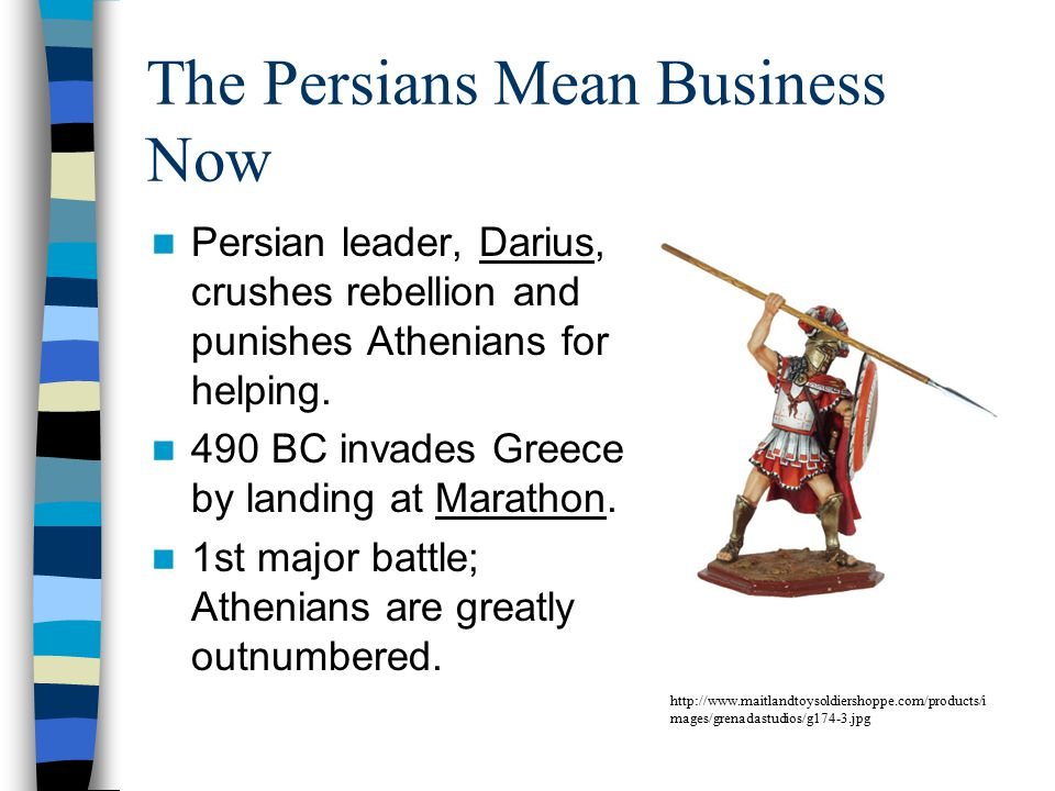 The Persians Mean Business Now