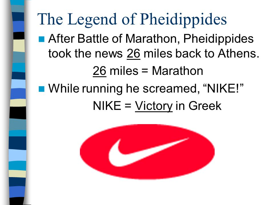 The Legend of Pheidippides