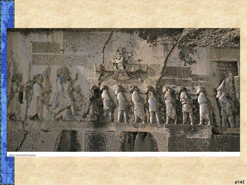 Darius's Victory: The Stone Relief at Behistun, Iran In 522 b. c. e