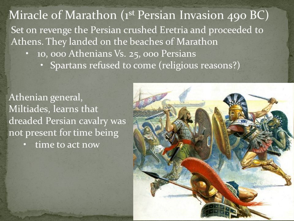 Miracle of Marathon (1st Persian Invasion 490 BC)
