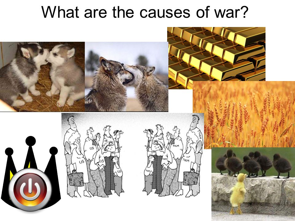 What are the causes of war